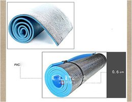 Wholesale Exercise Mat Wholesaler - Wholesale-Blue 180*60cm*6mm Thick Mats Pad for Sports Exercise Yoga 65nma Hot