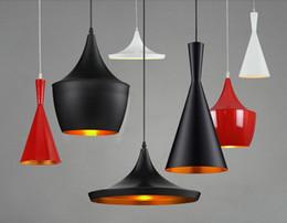 Wholesale Contemporary Red Led Light - Tom Dixon Design LED Pendant lamp hanging Light E27 Chandelier musical instrument restaurant hanging lamp Fixture Luminiare for Dining Room