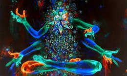 "Wholesale psychedelic art - Psychedelic Trippy Art Fabric poster 40"" x 24"" 21"" x 13"" Decor--026"