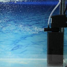 2019 pompe filtranti per serbatoi di pesce 300L / H Acquario Fish Tank Filtro interno Pompa acqua # 7181 pompe filtranti per serbatoi di pesce economici