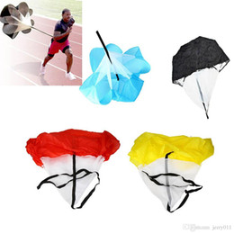 "Wholesale Soccer Umbrellas - 56"" Speed Resistance Training Parachute Running Chute Soccer Football Training Parachute Umbrella Blue Wholesale"