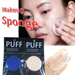 Wholesale Foundation Sponges - Colorfull silicone sponge face foundation tool jelly powder puff up clear powder puff artifact BB cream foundation makeup Sponges