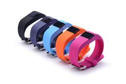 Wholesale Oled Display Bracelet - New Similar jw86 TW64S TW64 Fitbit flex smartband Charge HR Activity Wristband Wireless Heart Rate monitor OLED Display smart bracelet