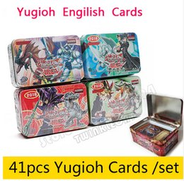 Wholesale Oh Cards - 41pcs  Set With Box Yugioh Game Paper Cards Toys Girl Boy Yu Gi Oh Game Collection Cards Christmas Gift Brinquedo Toy