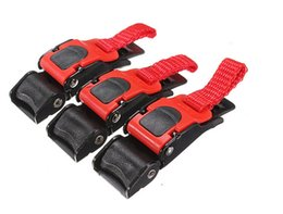 Wholesale plastic strap clip - 3 Sets lot ECE Motorcycle Helmet Quick Release Buckle Motor Bike ATV Helmet Chin Strap Clip