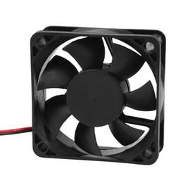2019 platten weniger Großhandels-DC 12V 2Pins Lüfter 60mm x 15mm für PC Computer-Fall CPU-Kühler-CAA