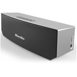 2019 черный окружают Bluedio BS-3 Camel Bluetooth колонки портативный беспроводной 3D стерео музыка объемный плеер черный белый серебро золото 4 цвета DHL бесплатно MIS090 дешево черный окружают