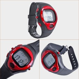 Wholesale Heart Rate Pulse Calorie Watch - 2015 Hot saling 6 in 1 Digital Sports Watches Heart Pulse Rate Monitor Calorie countor led fitness man woman male clcok wristwatch