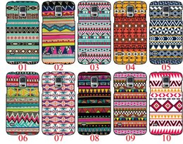 Wholesale Aztec Tribal S4 - Aztec Tribal Tribe Pattern For Samsung Galaxy S3 S5 S4 Note 3 4 5 S6 Edge For iPhone 6 6 Plus 5 5S 5C 4S For HTC One M7 M8 M9 phone cases