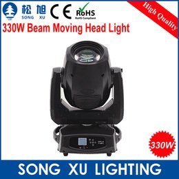 Wholesale Equipment For Bars - Wholesale-sharpy 330W 15R moving head beam light for Stage DJ Bar Disco Party Nightclub stage equipment(More beam effect ) SX-MH330A
