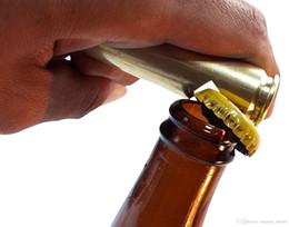 Canada Creative Bullet Forme Bouteille Opener Shell Case En Forme Ouvreurs Poudre Enduit pour Les Fans Militaires Cadeaux Père Cadeaux supplier shell powder Offre