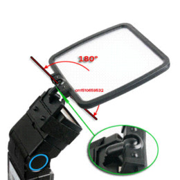 Wholesale Bounce Card - oldable Camera Flash Diffuser + Bounce Card + Silver Gold White Photograph Reflector for Can&n Nik&n S&ny &lympus + Track...