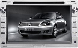 "Wholesale Car Digital Tft Touch Screen - 7"" TFT-LCD digital panel touch screen car DVD player for VW Passat(high equipment) with charger and Mobile Phone"