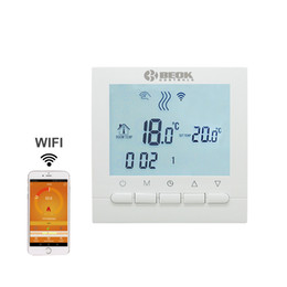 Wholesale Digital Thermostats - Programmable Room Heating Boiler WIFI Thermostat Digital Temperature Controls Regulator Wifi Control Thermostat for Gas Boilers