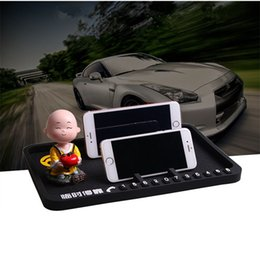 Wholesale Silicone Magic Mat - Magic Sticky Pad Non-slip Mat Silicone Car Dashboard Mobile Phone Holder Desktop Storage Stand Decoration Phone Number
