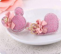 Wholesale Korean Baby Love - Korean children hair accessories hairpin love Mickey hairpin baby Taobao explosion models