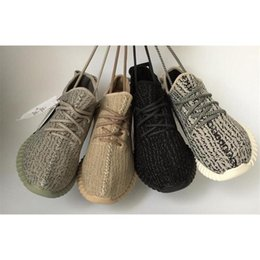 Wholesale Oxford Flats Leather - New Fashion 350 boost Turtle Dove Kanye West Running basketball Shoes Men Women Sports Shoes oxford tan Athletics Boost size 9.5