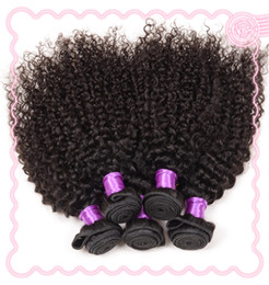 Wholesale Virgin Brazilian Remy Hair Curls - Unprocessed Natural Color Remy Hair Extensions Brazilian Indian Peruvian Malaysian Virgin Human Hair Weft 5pcs Mix Length Spring Curl Style