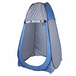 Wholesale Outdoor Pop - Wholesale- 1-2Person Tent Portable Pop Up Dressing Changing Tent Outdoor Camping Beach Fishing Toilet Shower Room Privacy With Carrying Bag