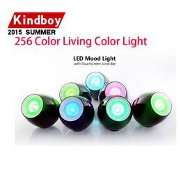 Wholesale Led Scroll Bar - New Fashion 256 Living Color LED Mood Light Touch Scroll Bar 256 Living Color Light LEG_004 free ship