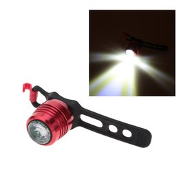Wholesale Head Torch Lumens - Aluminum Alloy 50 Lumens 3 Modes Rechargeable MTB Bicycle Front Light+USB Cable Cycling Bike Mini LED Front Head Light Torch
