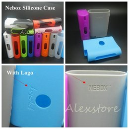 Wholesale vs cover - Silicone Case Silicon Cases Bag Colorful Rubber Sleeve Protective Cover Silica Gel Skin For kanger kangertech nebox tc 60w vape mod vs subox