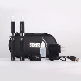 Evod двойной стартовый комплект электронная сигарета MT3 атомайзер clearomizer 650mah 900mah 1100mah аккумулятор электронная сигарета для свободного DHL корабль от Поставщики evod mt3 двойной стартовый комплект