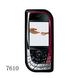 2019 telefone mikro-sim-karten Bar Telefon Kamera FM SIM-Karte 4 Stand-by 1,4 Zoll 7610 Handy mit Bluetooth-Kamera FM-Radio-Handy rabatt telefone mikro-sim-karten