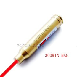 2019 atrações combo CAL: .300 WIN MAG Cartucho Red Laser Bore Sighter Rifle Caça 1pc