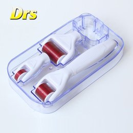 Wholesale Derma Roller Treatments - Derma Roller 4 in 1 Micro Needle Skin Treatment Meso Roller For Acne Scar