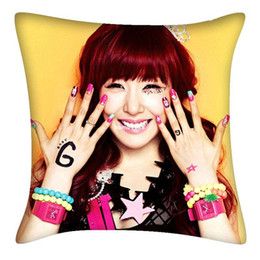 Wholesale Girls Generation Snsd - KPOP Girls' Generation SNSD Tiffany Fashion Custom Two Sided Cushion DPW167