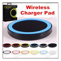 Wholesale Qi Charger S4 - S6 Qi Wireless Charger Cell phone X100 Mini Charge Pad For Qi-abled device Samsung Galaxy S3 S4 S5 S6 Note2 3 4 Nokia HTC LG Iphone phone
