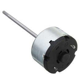 Wholesale bearing axis - New Arrival 1PCS Long Axis DC12V 4500rpm Toy Motor Front Ball Bearing Motor order<$18no track