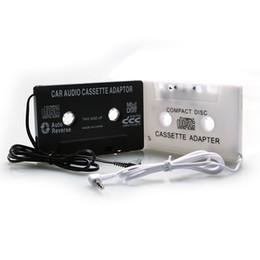 3.5mm Car Audio Tape Cassete Conversor Adaptador para Jack AUX CD para iphone para ipod MP3 Música Digital para Cassete de