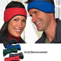 Wholesale Winter Accessories Ear Muffs - New 4 color Women Headband Hair band Winter Warm headbands Ear Warmer Girls Headwrap Hair Accessories ouc2133