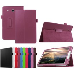 Wholesale Case For Galaxy Tab3 - Flip PU Leather Stand Cover Book Style Folio Case For Samsung Galaxy Tab 4 7.0 8.0 10.1 T23 T330 T530 A 2017 T380 T280 T580 E T377 9.6 T560