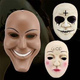 Wholesale Fun Halloween Costumes - Wholesale-Cool The Purge Mask Halloween High-Quality Mask Collector Theme Terrorist Movie Halloween Party Happy Fun Without Limit JJ163