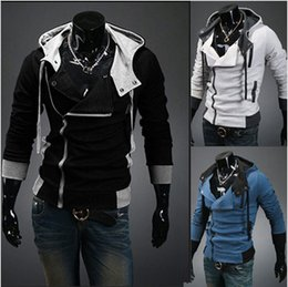 Wholesale Mens Cardigan Styles - Factory wholesale! New coats men outwear Mens Special Hoodie Jacket Coat men clothes cardigan style jacket free shipping