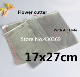 Wholesale Self Adhesive Bags 27cm - 100 PCS 17x27cm 17*27cm Big Clear Packaging Self Adhesive Bags Cloth Quilt Packing Bag Plastic OPP BOPP Poly Bag