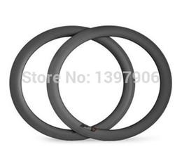 Wholesale Cheap Carbon Bike Wheels - 100% Hand built cheap 3K MATT Wheel 60mm*23mm 700c full carbon rim clincher road bike Rims
