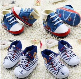 Wholesale China Wholesale Fallen Shoes - Wholesale children Lapel canvas shoes!high top toddler sports shoes,non- slip baby shoes,Fall walker Casual shoes,china shoes.6pairs 12pcs.C