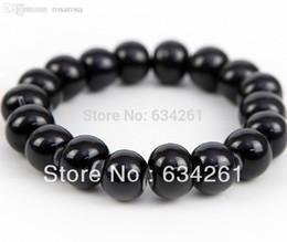 Wholesale Chinese Men Bracelets Free Shipping - Wholesale-CB002 Free shipping Chinese Ceramic beads bangle bracelet for men women birthday gift