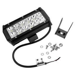 Wholesale High Power Led Driving Lights - 2520Lm 36W High Power Waterproof CREE LED Offroad Work Light Off Road Driving Light with 12pcs 3W LED for Car Truck Jeep Boat