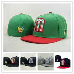 Wholesale Embroidered Baseball Caps Cheap - Cool Mexico Baseball Cap Thousands Style Hat For Men, Cheap Mexico Fitted Hat Women Sport Hats Wholesale