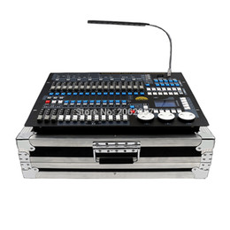 Wholesale Computer Dmx Controller - Wholesale- Good quality 1024 dmx controller DJ computer professional stage light controller moving head beam light console with fly case