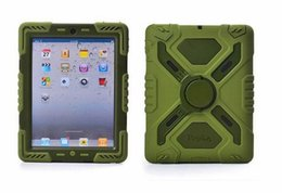 Wholesale Ipad Air Water Proof Case - 2014 new arrival Pepkoo Defender Military Spider Stand Water dirt shock Proof Case Cover iPad Air 5 iPad 2 3 4