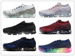 Wholesale Tassel For Shoe Laces - New Vapormax Mens Running Shoes For Men Sneakers Women Fashion Athletic Sport Shoe Hot Corss Hiking Jogging Walking Outdoor Shoe