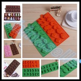 Wholesale Wholesale Chocolate Cake Boxes - Food-grade Silicone Ice Cube Ice Box Chocolate Molds Snowman Christmas Jelly cup Mold Candy Cake Mould Bakeware Decoration Kitchen tools