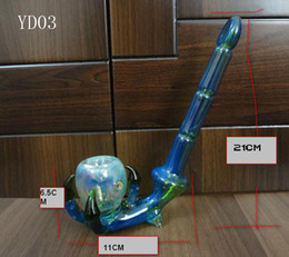Wholesale Bearing Temperature - NEW Bear High Temperature Smoking Pipes Colorful Glass Pipe Mini Glass Smoking Pipe Glass Tobacco Pipe Glass Pipes For Smoking