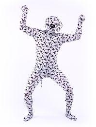 Wholesale Lycra Catsuit Zentai Cosplay - Lycra spandex zentai suits dalmatian dog costumes halloween cosplay